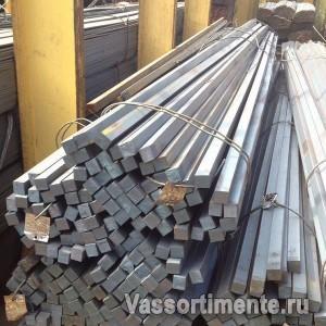 Квадрат калиброванный 5 мм сталь 3пс ГОСТ 8559-75