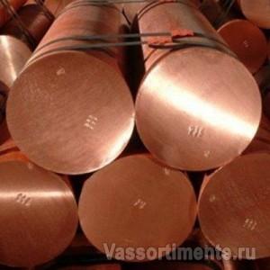 Круг медный 32 мм М2 ДКРНТ ГОСТ 1535-2006