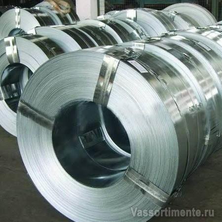 Лента стальная 0.6х19 упаковочная