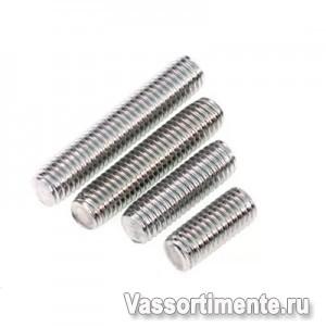 Шпилька нержавеющая М6 сталь А2 L= 2 м DIN 975